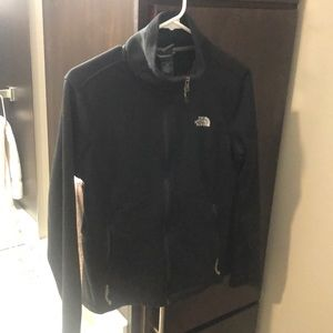 Zip up fleece lined Northface jacket